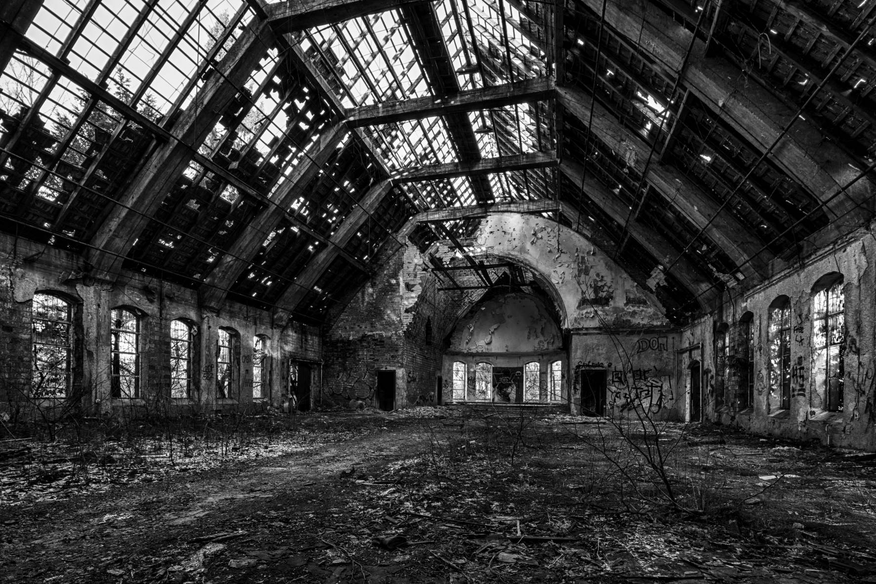 lost rotten abandoned place nikon